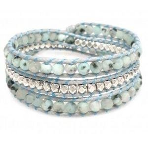 Handmade New Katie Soleil 3 Wrap Bracelet Hairband